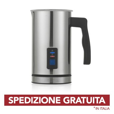 Brandani Scalda Montalatte Schiumotto Techno Collection Inox