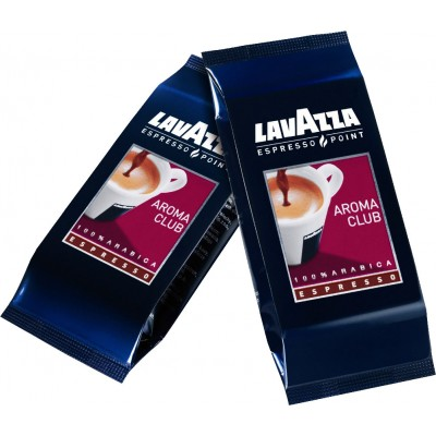 100 capsule caffe Lavazza Espresso Point Aroma Club 100% arabica codice 470