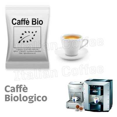 50 capsule caffe Italian Coffee 100% Arabica Bio compatibili Lavazza Espresso Point