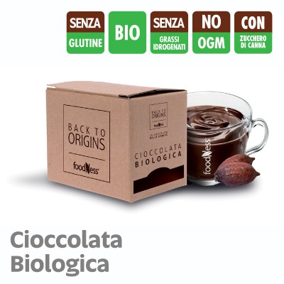 15 Bustine Monodose FoodNess Cioccolata back to origins Biologica