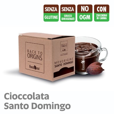 15 Bustine Monodose FoodNess Cioccolata back to origins Monorigine Santo Domingo