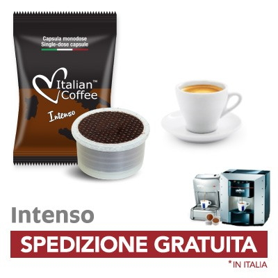 Capsule caffe Italian Coffee Intenso compatibili Lavazza Espresso Point