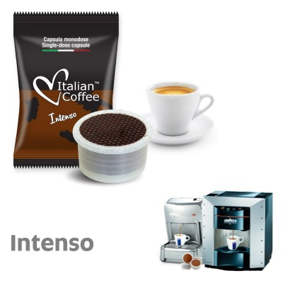 50 capsule caffe Italian Coffee Intenso compatibili Lavazza Espresso Point