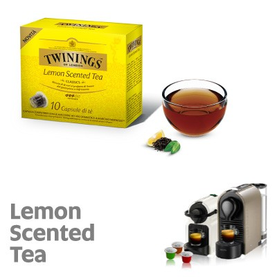 10 Capsule Twinings compatibili Nespresso Lemon Scented Tea