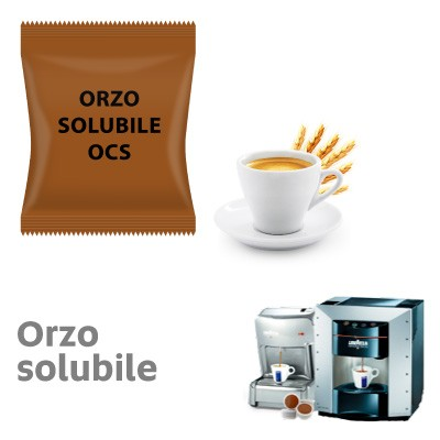 50 capsule Orzo solubile Ristora neutro compatibile Lavazza Espresso Point