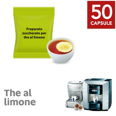 50 capsule Te al Limone solubile Ristora neutro compatibile Lavazza Espresso Point