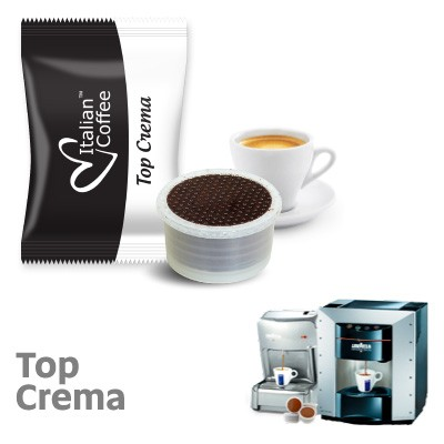 50 capsule caffe Italian Coffee Top Crema Selection compatibili Lavazza Espresso Point