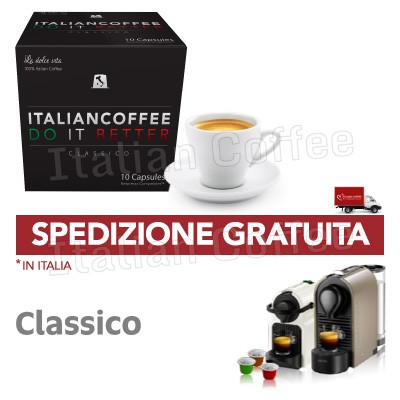 Capsule caffè Italian Coffee Do It Better Classico compatibili Nespresso